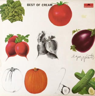 Cream - Best Of Cream (LP) (VG/VG+)